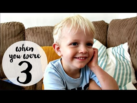 A CHAT WITH THREE YEAR-OLD BILL| Charlotte Taylor