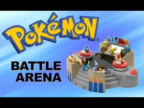 pokemon battle arena toy by tomy pok233mon x amp y youtube