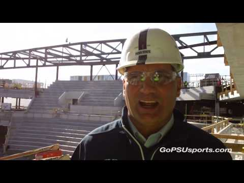 Pegula Ice Arena Topping Off Ceremony