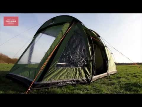 & Vango Odyssey 400 tent | Cotswold Outdoor product video - YouTube