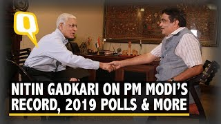 Nitin Gadkari Hails PM Modi\'s Leadership, Talks Tough on Pak, Trolls | The Quint
