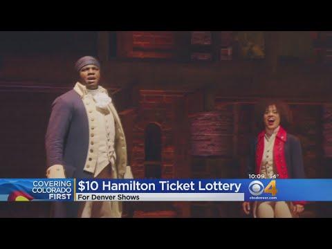 Hamilton Digital Lottery Tickets Just $10
