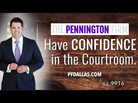 Collin County Attorney Near You   Austin Pennington   Having Confidence In The Courtroom