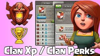 """""""Clan XP & Clan Perks"""" Clash of clans (Clan War updates)"""