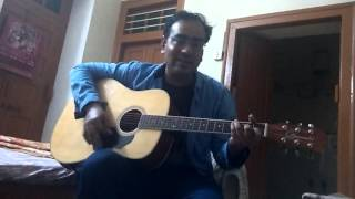 Jab koi bat bigad jaye sung by Harsh on Guitar