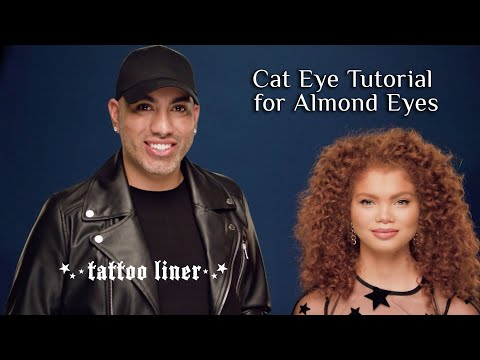 How to Apply Eyeliner on an Almond Eye using Tattoo Liner | KVD Vegan Beauty