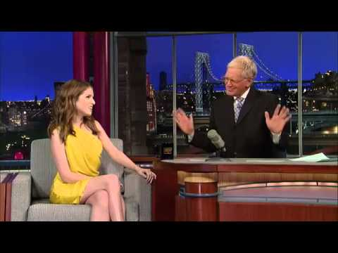 Anna Kendrick Song and Cup Trick LIVE