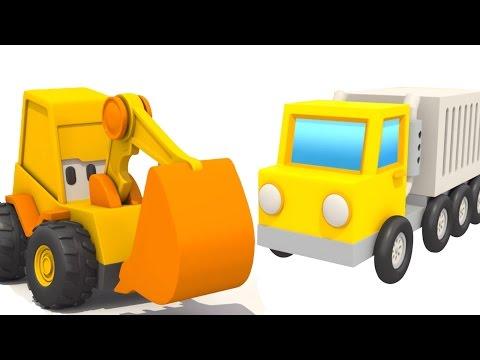 Развивающий мультик конструктор: Экскаватор Мася и большая МАШИНКА. Собираем КОНТЕЙНЕРОВОЗ