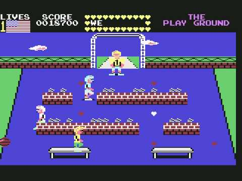 Mikie (c64) longplay & title music