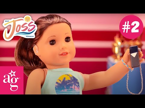 Joss Tries Out For The Cheer Team | Meet Joss Kendrick Stop Motion Ep. 2 | American Girl