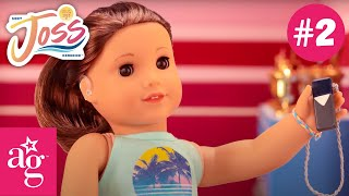 Joss Tries Out for the Cheer Team   Meet Joss Kendrick Stop Motion Episode 2   @American Girl