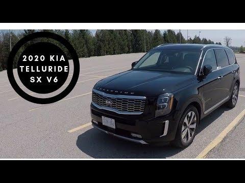 2020 Kia Telluride SX V6 POV Test Drive and Walk Around