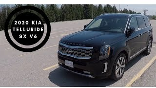 2020 Kia Telluride SX V6 POV Test Drive and Walk Around