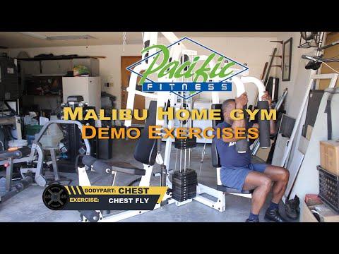 Dr Gene James- Pacific Fitness Malibu Demo Video