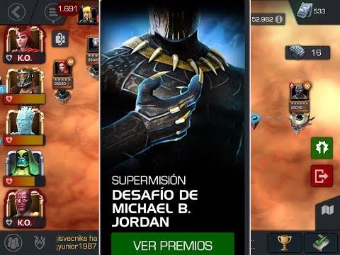 Desafío de Michael B. Jordan/Marvel Contest of Champions