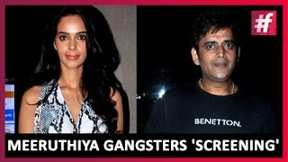 Mallika Sherawat and Ravi Kishan With Meeruthiya Gangsters