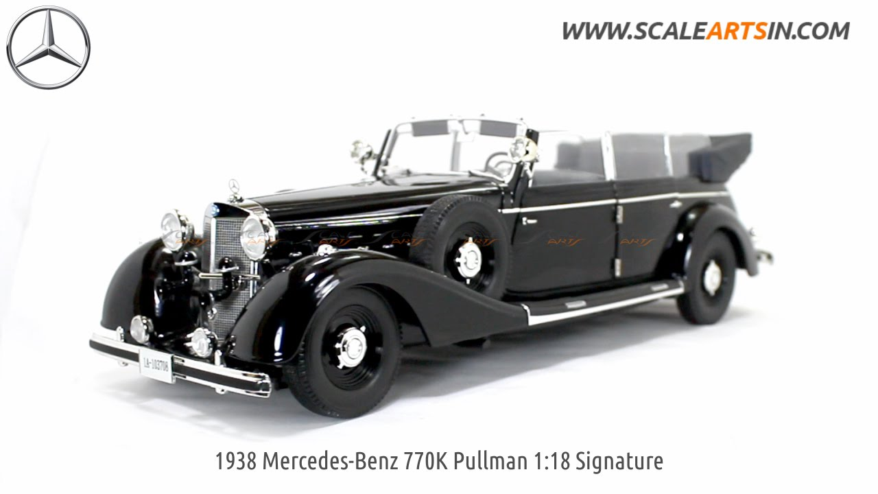 1938 Mercedes-Benz 770K Pullman 1:18 Signature Models
