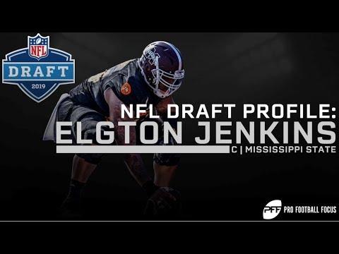 NFL Draft Profile: Elgton Jenkins | PFF