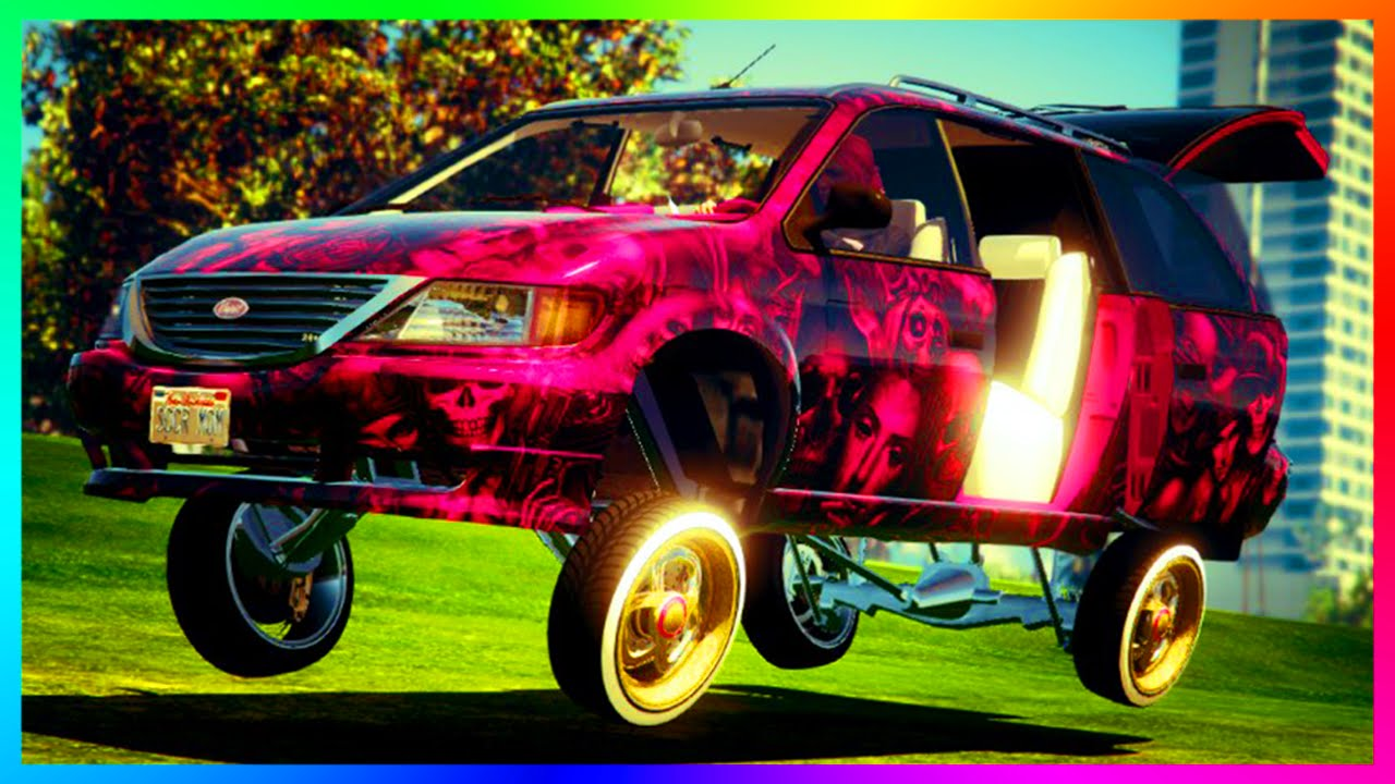 Gta 5 Dlc Update New Minivan Custom Ing Customizing Spree Showcase Online You