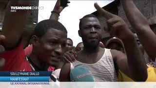 Guinée : nouvelle contestation violente contre un potentiel 3ème mandat du président Alpha Condé