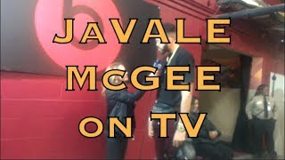 JaVALE McGEE interview on live TV, postgame G4 2018 NBA Finals from Cleveland
