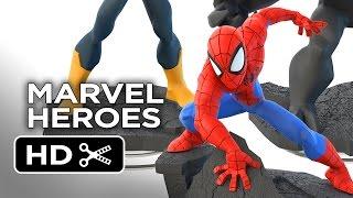 Ver  Disney Infinity: Marvel Super Heroes – First Look (2014) – Video Game HD