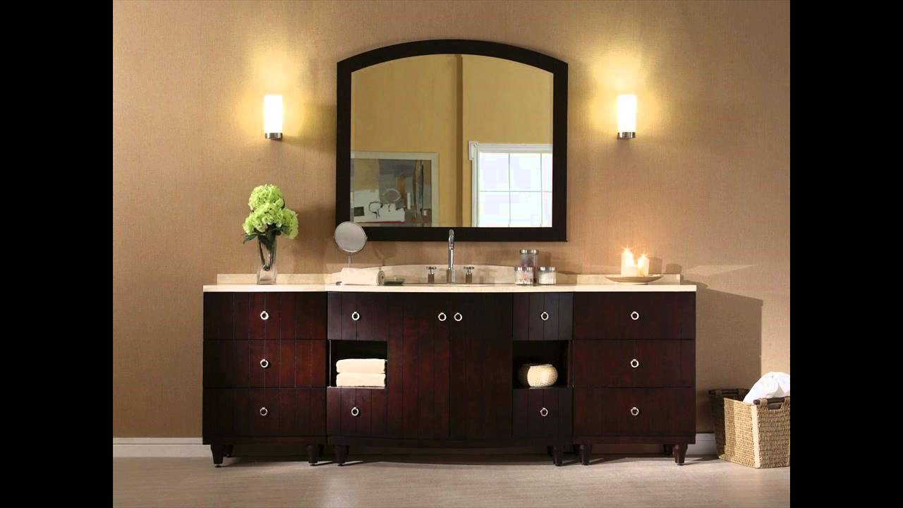 bathroom vanity light fixtures oil rubbed bronze - YouTube