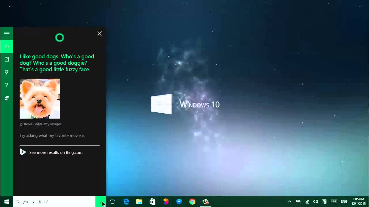 Talking with cortana on windows 10 pc youtube