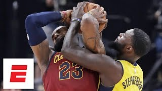 LeBron James vs. Lance Stephenson continues to get chippy throughout Game 4 ESPN