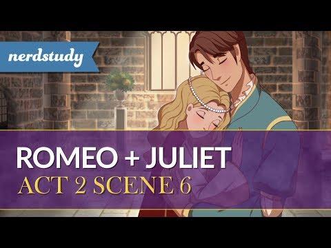 Romeo and Juliet Summary (Act 2 Scene 6) - Nerdstudy
