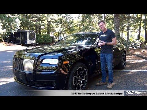 Review: 2017 Rolls-Royce Ghost Black Badge