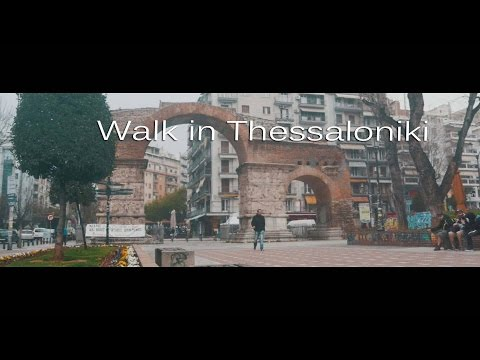 Walk in Thessaloniki