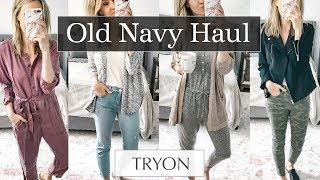 Old Navy Try On Haul Fall 2018