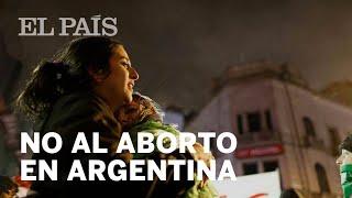 El Senado argentino RECHAZA EL ABORTO LEGAL | América
