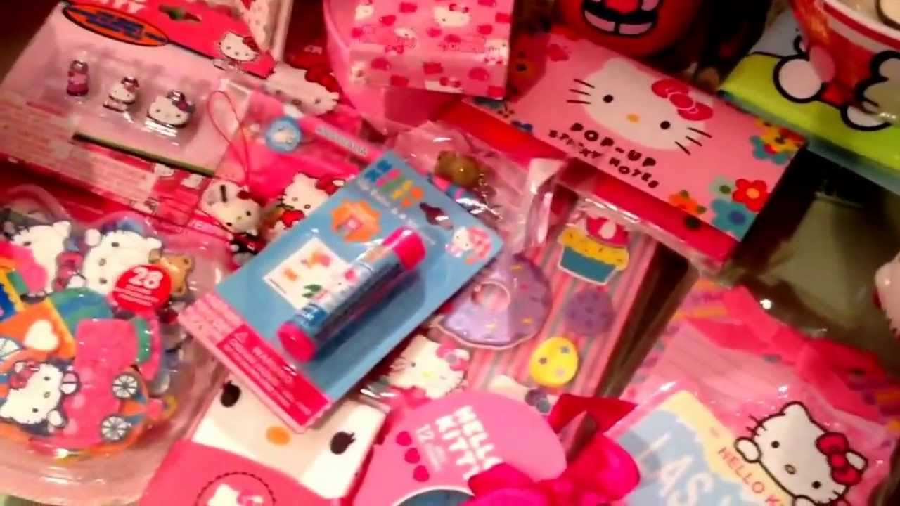 Hello kitty collection 2014  YouTube