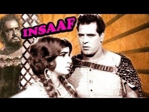 """Insaaf""   Full Hindi Movie   Prithviraj Kapoor   Dara Singh   Praveen Chowdhry   1966"