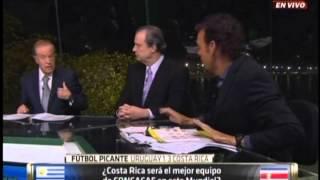 Analisis del URUGUAY vs COSTA RICA