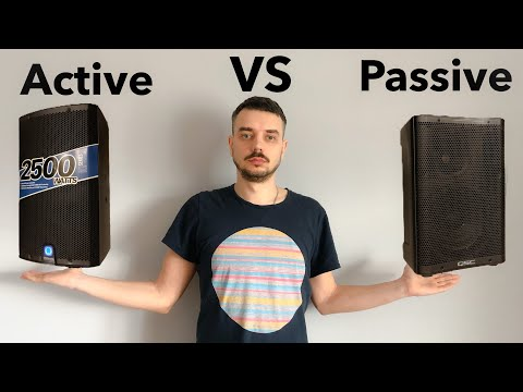 Активные или пассивные акустические системы?