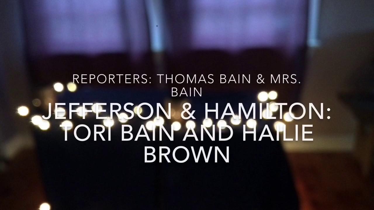 Hamilton v. Jefferson: a Cabinet Meeting - YouTube