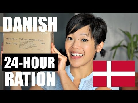 Danish 24-hour Ration Pack Taste Test - MRE Review