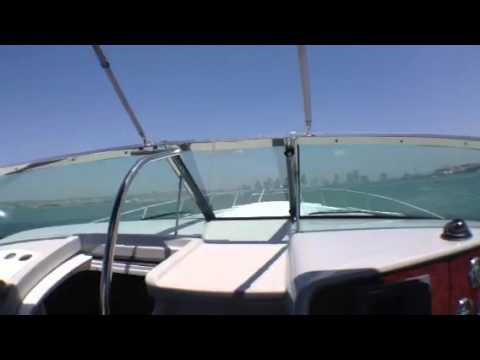 Running a 40 Super sport formula across San Diego bay
