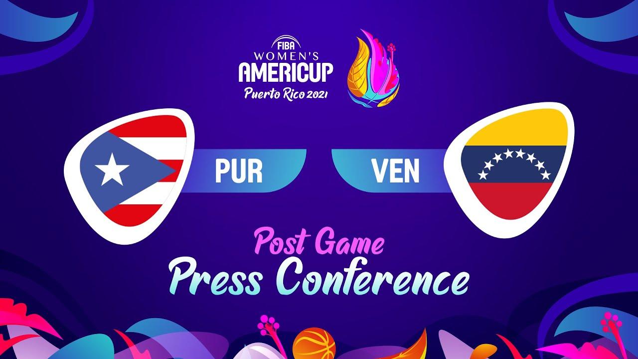 Puerto Rico v Venezuela - Press Conference | FIBA Women's AmeriCup 2021