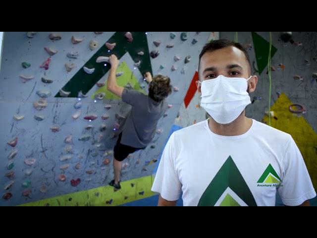 Vídeo Institucional Ginásio de Escalada Aventura Alpina