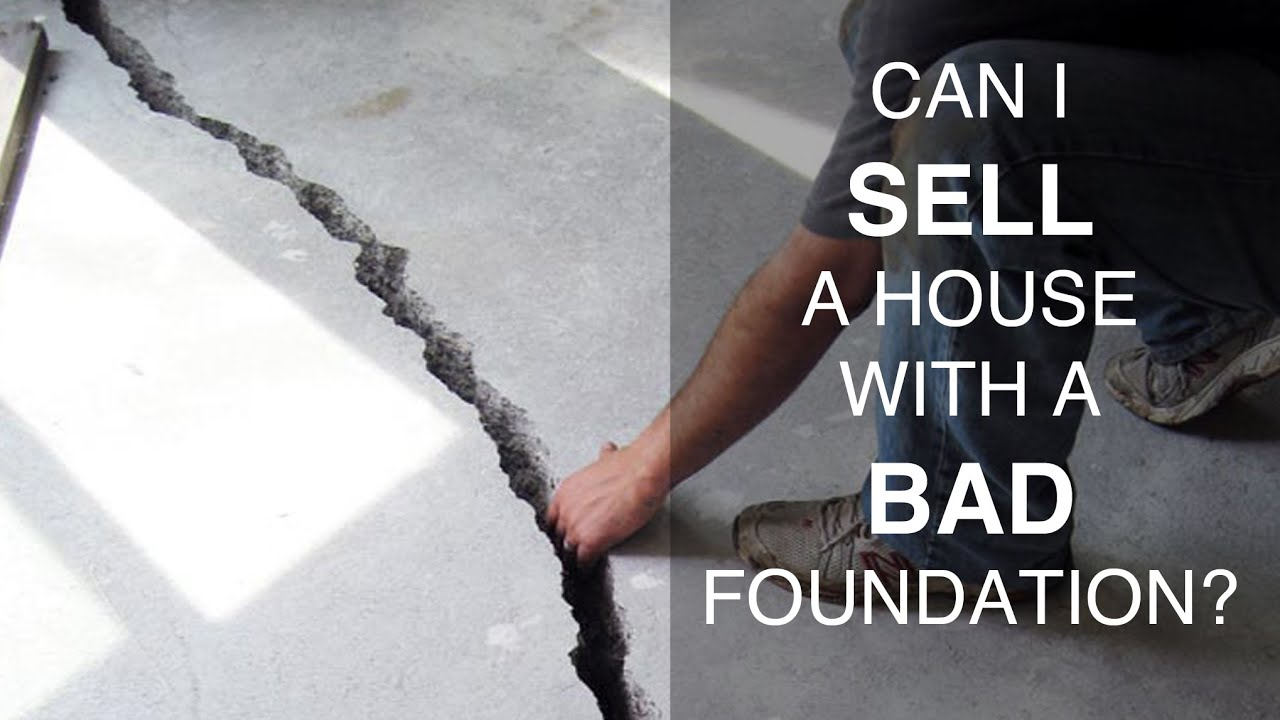 Selling A House With A Bad Foundation And Structural Repairs