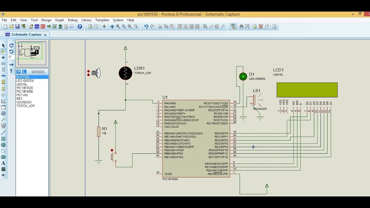 Light(LDR) and Smoke(Gas) Sensor Interfacing with PIC18 ...