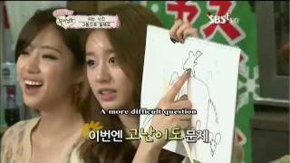 (Eng) T-ara Jiyeon passion for drawing