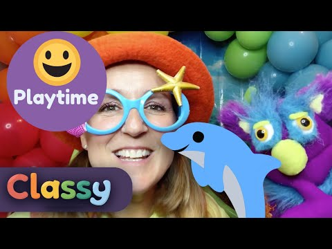 Let's go under the ocean | Classy | Puppets | JoJoFun | Miss Take | Early Childhood Education