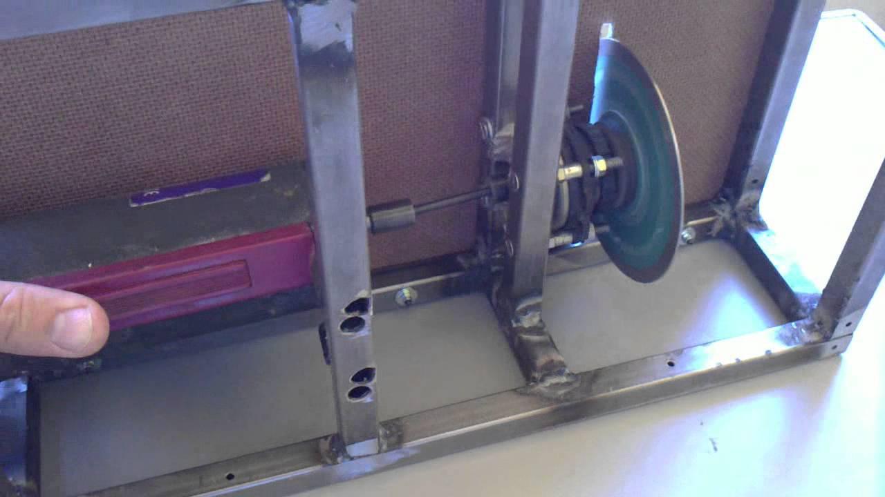 cortadora de disco de mesa casera - YouTube