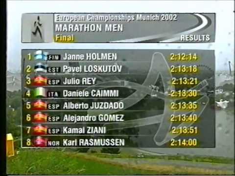 Münchenin EM-kisat 2002: miesten maraton (Janne Holmén)