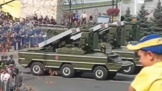 День победы Киев 2017-2019 . Военный парад